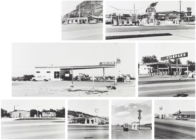 gasoline stations ed ruscha