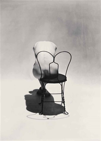 erwin blumenfeld soul of the chair nude photograph