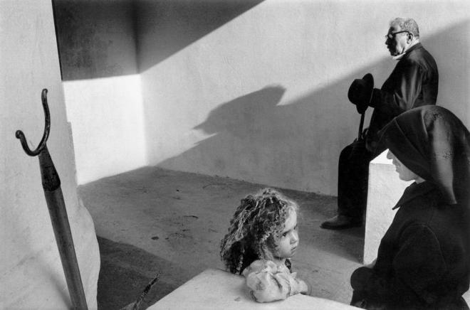 Black and white Koudelka Portugal Photograph