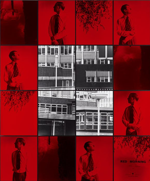 Gilbert & George Red Morning (Hate) 1977