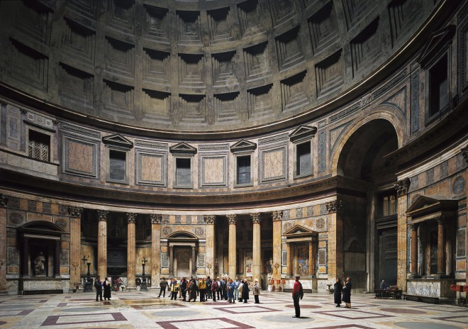 Thomas Struth Patheon, Rome