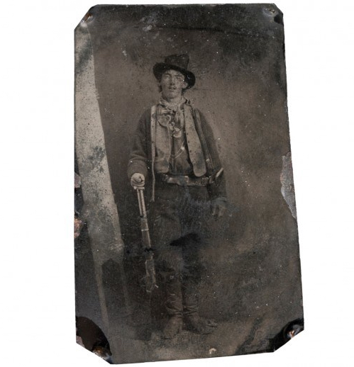 """Unknown """"Billy the Kid"""" (Fort Sumner, New Mexico) 1879"""