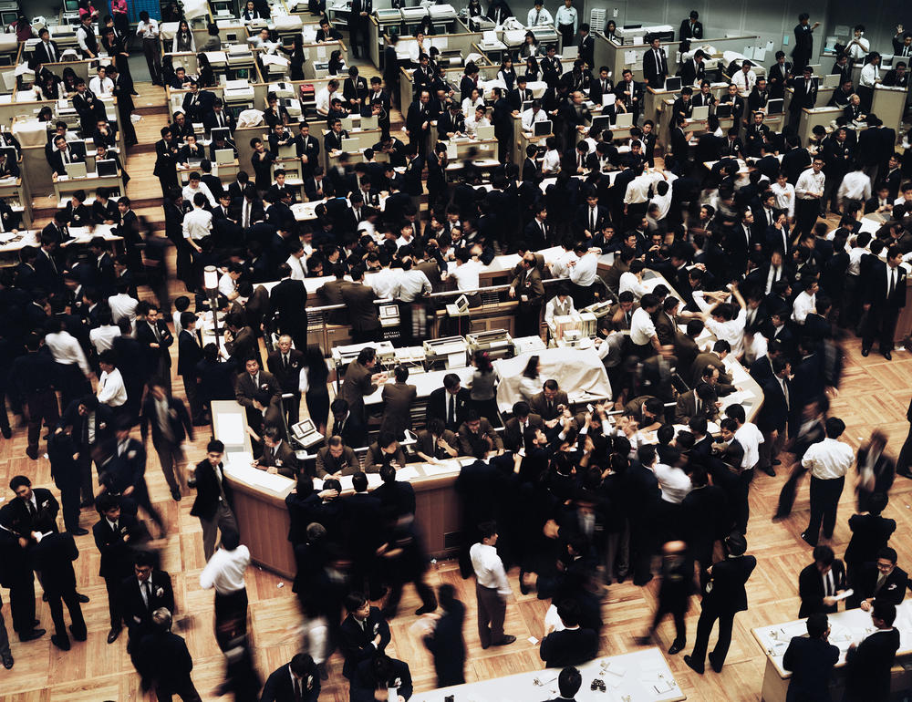 Andreas Gursky Tokyo, Stock Exchange