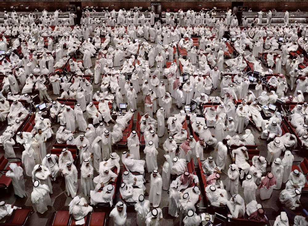 Andreas Gursky Kuwait, Stock Exchange II