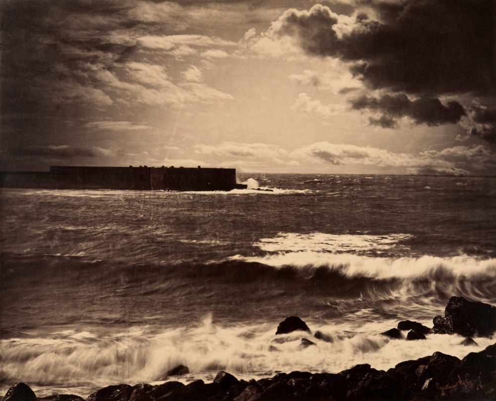 Gustave Le Gray The Great Wave, Sete