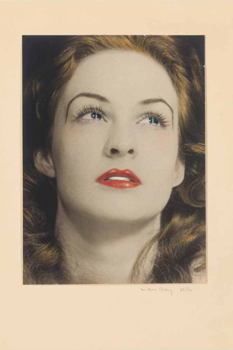 Man Ray Portrait of a Tearful Woman 1936