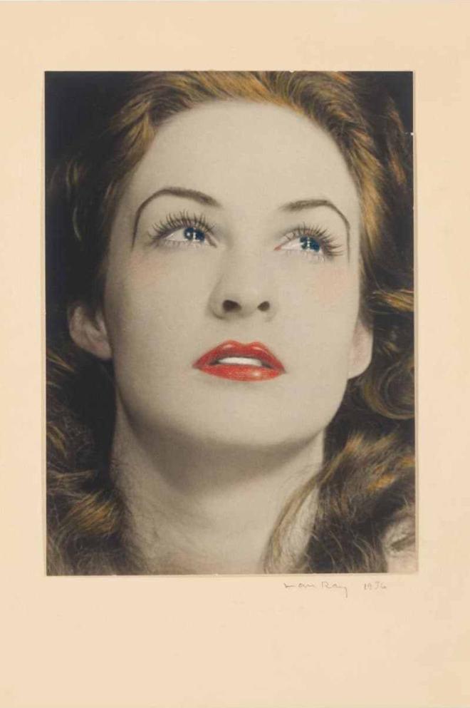 Man Ray Portrait of a Tearful Woman 1936