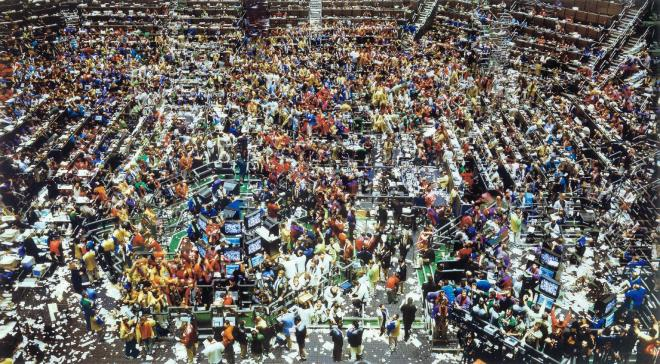 Andreas Gursky Chicago Board of Trade 1997