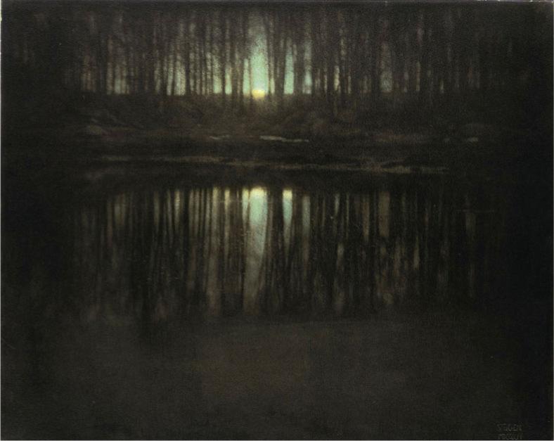 Edward Steichen The Pond - Moonlight 1904